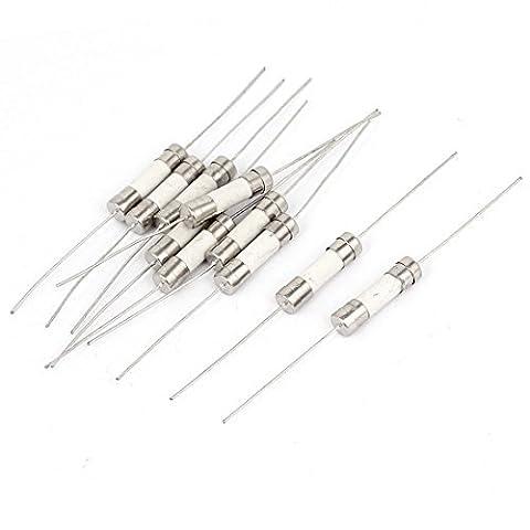 Elektrische Axial Leaded Keramikrohr Sicherungen 5 x 20 mm 250V