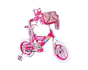 Barbie Girls Barbie Bike, 12-Inch, Pink/White