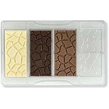 Decora molde tortuga tableta de chocolate, de policarbonato, transparente