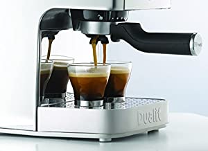 Dualit 3-in-1 Espressivo Coffee Machine, 1.5 Litre, 1250 Watt, 15 Bar, Polished Stainless Steel DCM2X