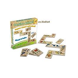 Teorema 40186 – Domino Animali, Legno