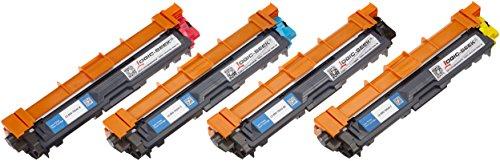 4 Toner für Brother TN-242 TN-246 HL-3142 3152 3172 CW CDW DCP9017CDW - Schwarz 2.500 Seiten, Color je 2.200 Seiten