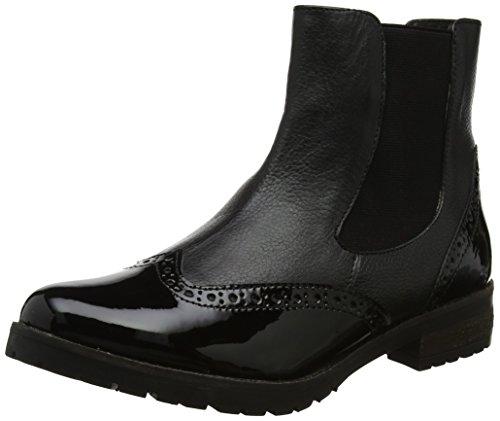 Lotus Women's Brianza Chelsea Boots, Black (Black/Shiny), 5 UK 38 EU