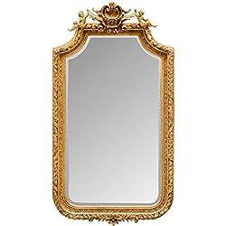 Casa Padrino espejo barroco con marco dorado 100 x H. 175 cm - Muebles de Estilo Antiguo