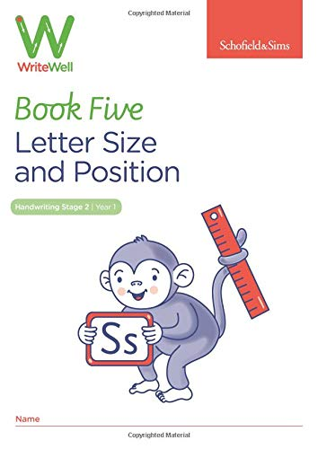 WriteWell 5: Letter Size and Position, Year 1, Ages 5-6