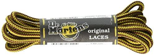 Dr Martens et Bootlaces de lacets de rechange Brown / Yellow