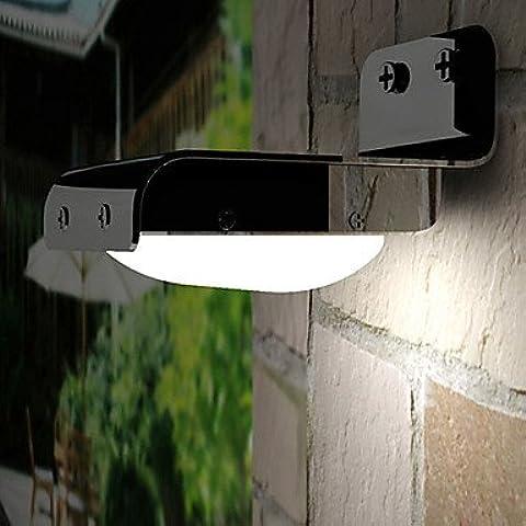 ZJ outdoor solare 16smd suono sensore muro del giardino di