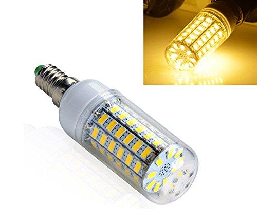 Preisvergleich Produktbild E14 15W 5730 SMD 69 LED Mais Licht Lampe Energieeinsparung 360 Grad 3300K 230V