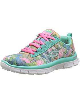 Skechers Skech Appeal-Floral Bloom, Zapatillas para Niñas