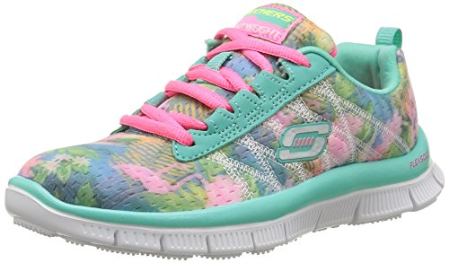 Skechers Skech Appeal - Floral Bloom, Girls' Multisport Outdoor Shoes, Green (aqua),...