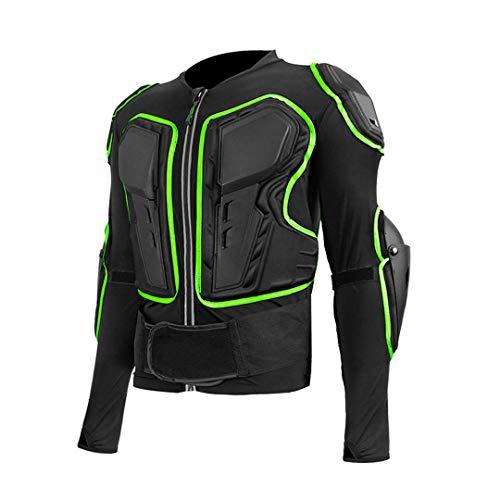 Gratydallks Motorrad-Rüstung Motocross Off-Road Racing Biker-Schutzkleidung Black M