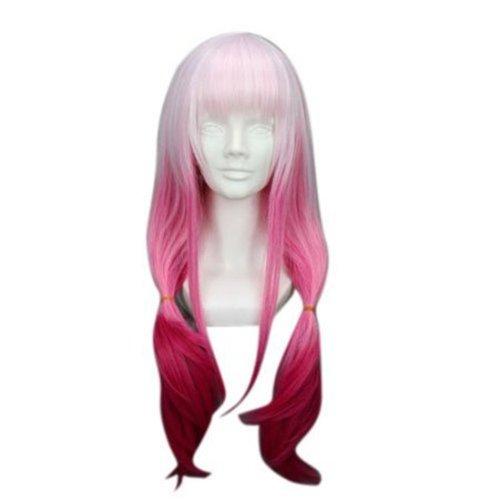 COSPLAZA Cosplay Wig Kostueme Peruecke Guilty Crown Miyuko lang gerade Lolita Pink Haare (Guilty Crown Cosplay Kostüm)
