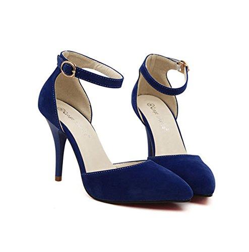 XTIAN - Scarpe con Tacco Donna Blau