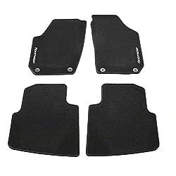 """Skoda Roomster Textil-Fußmatte PP normal mit dem Schriftzug""""Roomster"""""""
