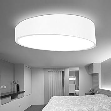 Damjic Nordic Hintere Deckenleuchte Dome Schlafzimmer Wohnzimmer Deckenlampe Balkon Led 25 Cm Weiss Weisses Licht Amazonde Kche Haushalt