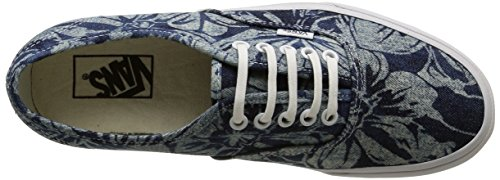 Vans Unisex-Erwachsene Authentic Sneaker Blau (indigo Tropical/blue/true White)