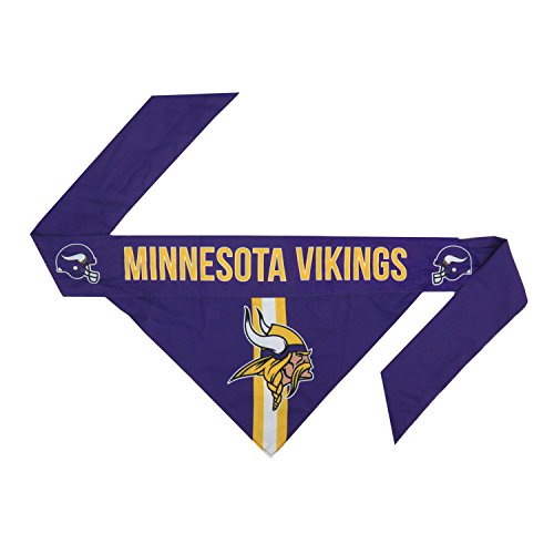 nfl-minnesota-vikings-team-dog-bandana-xl-purple