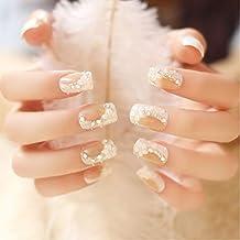 24 unidades romántica blanca larga – Falsa Postizas Faux joyas Camelia ...