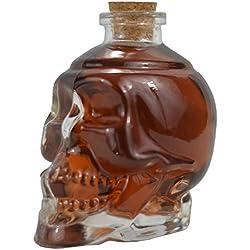 Ducomi® Rover - En vidrio para licores, vino, cerveza con corcho - Original idea de regalo (Set of 5, 380 ml)