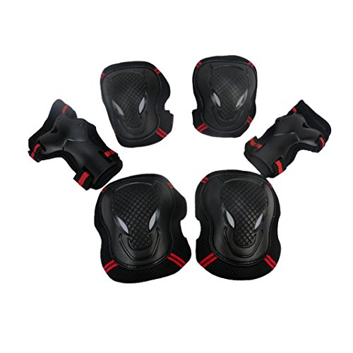 ginocchiere-ourmall-bmx-ginocchiere-e-gomitiere-per-polsi-sport-protective-gear-safety-pad-safeguard