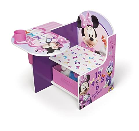 Delta Children - TC85663MN - Minnie - Chaise avec Tablette