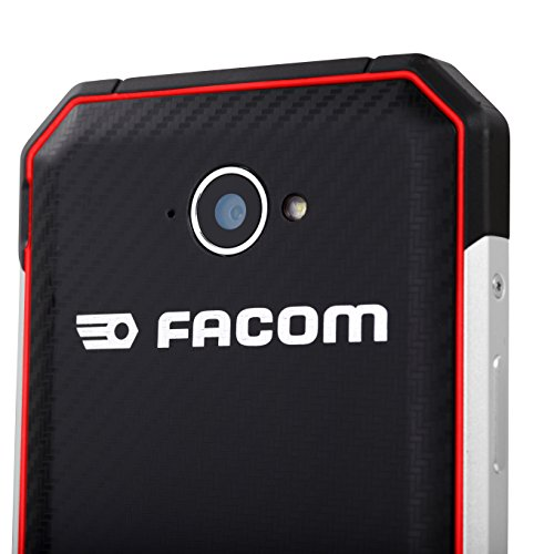 Facom F400 SIM doble 4G 16GB Negro  Rojo - Smartphone  11 8 cm  4 66    2 GB  16 GB  8 MP  Android  Negro  Rojo