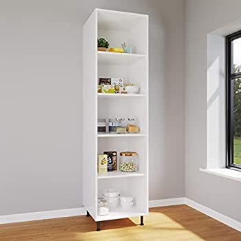 600mm Kitchen Base Unit White Cabinets Carcasses Drawing ...