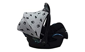 JANABEBE Canopy hood for Maxi Cosi Cabriofix (Robot Space)