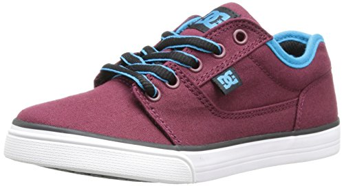 DC Shoes Tonik TX B, Sneakers basses garçon Rouge - Burgundy/Dawn