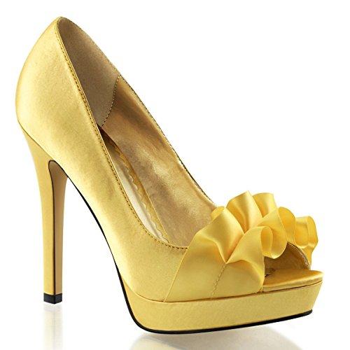 Heels-Perfect, Scarpe col tacco donna Giallo (Gelb (Gelb))