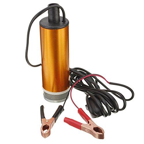 GOZAR 12V Auto-Lkw-Dieselkraftstoff-Wasser-Öl-Tauchpumpe Mit Schalter