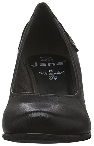 Jana 22404, Scarpe con Tacco Donna Grigio (Graphite 206)