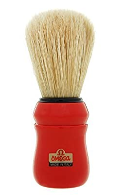 Red Omega 49 Professional Pure Bristle Shaving Brush