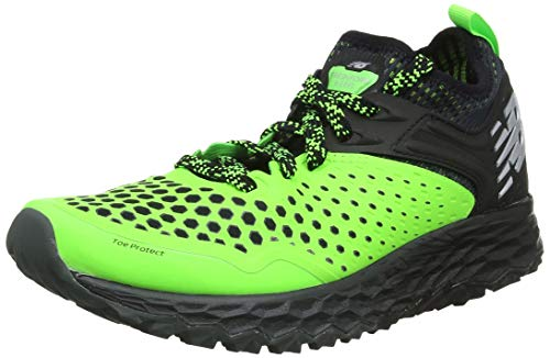 New Balance Fresh Foam Hierro v4, Scarpe da Trail Running Uomo, Verde Bright Green, 45 EU