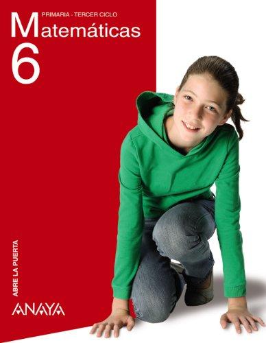 Matemáticas 6. (Abre la puerta)