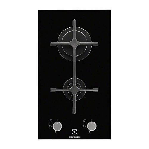 Electrolux egc3322nvk intégré gaz noir plaque – Plaque (intégré, gaz, verre, noir, rotatif, propane/butane)