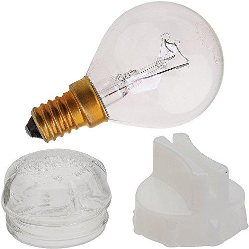 Original Bosch Neff Siemens Ofenlampe Glaslampe mit Abdeckung und Werkzeug zum Entfernen -