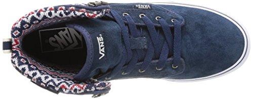 Vans - W Atwood Hi (Mte), Scarpe a collo alto Donna Blu (Bleu (Navy/Off White))