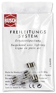 Busch 5572  - Fusibles de seguirdad 1A (5 Unidades) Importado de Alemania
