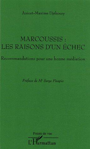Marcoussis : les raisons d'un échec : Recommandations pour une bonne médiation