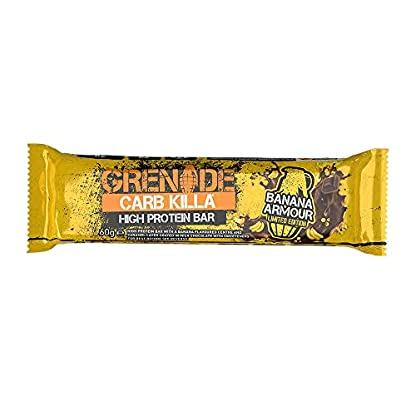 Grenade Carb Killa High Protein and Low Carb Bar, 12 x 60 g - A Selection Box 3