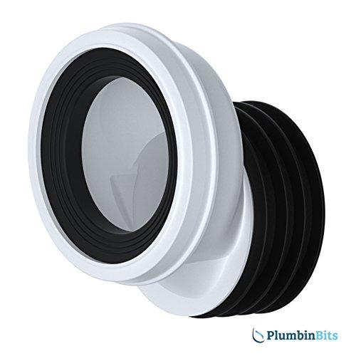 Preisvergleich Produktbild Viva leicht zu montierendem 40mm gekröpft WC Anschluss