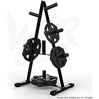 """Preisvergleich für We R Sports Olympic Weight Plate Tree Rack Stand Storage For 2"""" Plates Discs 7 Bar Holder"""