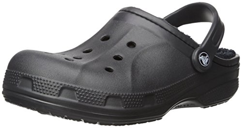 Crocs Winter Clog, Sabots Mixte Adulte, Noir Noir (Black/black)