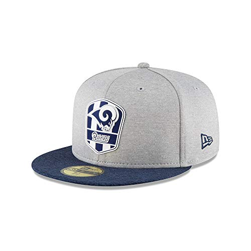 New Era 59Fifty Los Angeles Rams Cap grau 7.5 (Rams Bekleidung)
