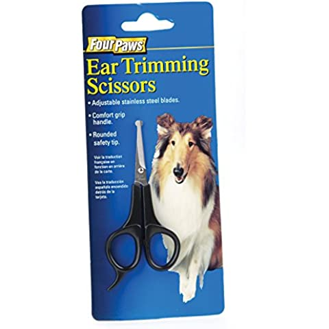 Four Paws Dog Grooming Ear Trimming Scissors by Four Paws