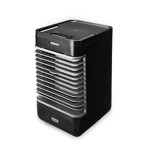 Womdee Luftkühler Mini, Tragbare Klimaanlage, Persönliche Klimaanlage Kühler mit 2 Arbeitsmodus, 3 in 1 Kleiner Kühlluftbefeuchter für Zuhause, Büro oder Schlafzimmer