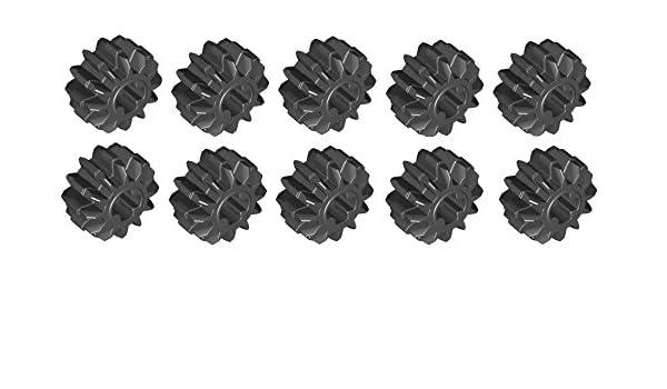 10x LEGO® Technic 32270 Zahnrad//Zahnräder 12 Zähne schwarz NEU black gear