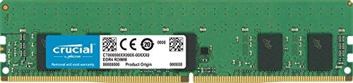 Crucial CT8G4RFS8266 8GB Speicher (DDR4, 2666 MT/s, PC4-21300, Single Rank x8, ECC, Registrierte, DIMM, 288-Pin) -