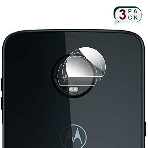 XCYYOO 3 x Pack Lente della Fotocamera Posteriore Protezione per Motorola Moto Z3 Play [Forte Morbidezza] Schermo Obiettivo Vetro Temperato Fotografica Pellicola Vetro Protettivo Film